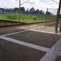 Photo taken at KTM Line - Bandar Tasik Selatan Station (KB04) by Mohd S. on 12/8/2012