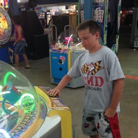 Photo taken at Carolina Beach Arcade by Carrie S. on 8/8/2013