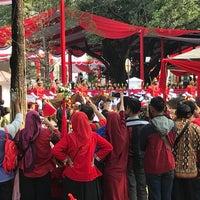 Photo taken at Lapangan Silang Monas by Hagumi on 8/17/2018