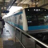 Photo taken at Higashi-Jujo Station by Hagumi on 7/18/2013