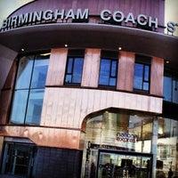 Photo taken at Birmingham Coach Station by Paul W. on 3/17/2013