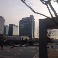Photo taken at Samsung 정보통신동 by Trevor C. on 11/26/2013