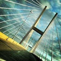 Photo taken at Sidney Lanier Bridge by Janet D. on 11/12/2012