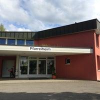 Photo taken at Pfarrheim St. Pankratius Hitzkirch by Ansgar W. on 5/13/2013