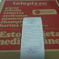 Foto tomada en Telepizza por Hara A. el 5/30/2013