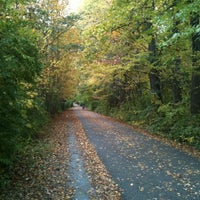 Photo taken at Capital Crescent Trail - Bethesda by Nick C. on 10/18/2012
