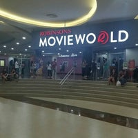 Photo taken at Movie World Robinsons Place Palawan by Павел К. on 7/7/2016