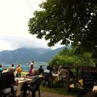 Photo taken at Gasthaus Mahdhäusl by Manfred H. on 7/29/2013