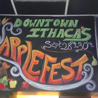 Photo taken at Collegetown Bagels by Julie S. on 9/30/2012