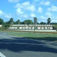 Photo taken at Luis Muñoz Marín International Airport (SJU) by Ruben O. on 11/1/2012
