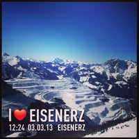 Photo taken at Eisenerz by Meberl on 3/3/2013
