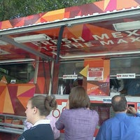 Photo taken at Zoca: Taco + Burrito Truck by Debbie W. on 10/19/2012