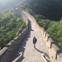 Photo taken at The Great Wall of China - Defense Tower by Mohammed M. on 5/16/2016