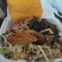 Photo taken at Golden Krust Caribbean Bakery and Grill by Al C. on 4/5/2013