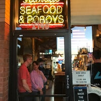 Photo taken at AJ's Famous Seafood and PoBoys by SooFab on 4/8/2017