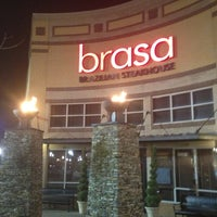 Photo taken at Brasa Brazilian Steakhouse by SooFab on 1/22/2013