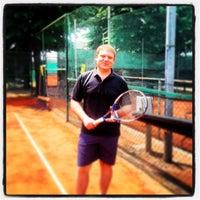 Photo taken at CUS Torino - Campi da Tennis by Michele V. on 6/17/2013