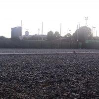 Photo taken at CUS Torino - Campi da Tennis by Michele V. on 8/6/2014