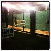 Photo taken at CUS Torino - Campi da Tennis by Michele V. on 11/6/2013