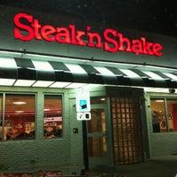 Photo taken at Steak 'n Shake by Jude B. on 7/4/2012