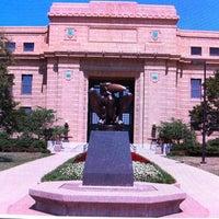 Photo taken at The University of Kansas by Kristi on 8/30/2012