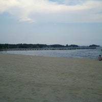 Photo taken at West Beach Park by Iggy L. on 9/7/2012