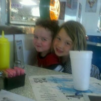 Photo taken at Great Scott Diner by Jamie K. on 5/3/2012