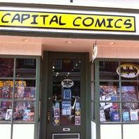 Photo taken at Capital Comics by Stu L. on 5/5/2012