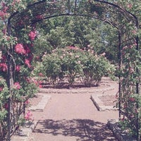 Photo taken at Rose Garden by Nicole P. on 4/27/2012