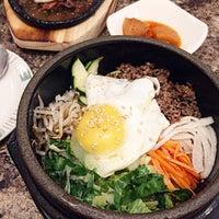 Photo taken at Kim Baek Korean Restaurant by Mina on 7/16/2017