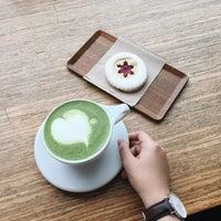 Photo taken at MAKE Coffee + Stuff by Mina on 1/22/2017