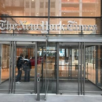 Photo taken at The New York Times Building by Mike D. on 1/21/2017