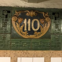 Photo taken at MTA Subway - Cathedral Pkwy/110th St (1) by Mike D. on 6/9/2017