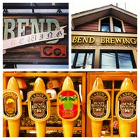 Photo taken at Bend Brewing Company by Kyle R. on 2/28/2013