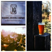 Photo taken at 10 Barrel Brewing Company by Kyle R. on 2/25/2013