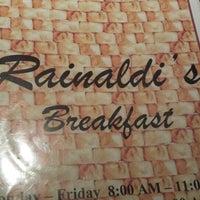 Photo taken at Rainaldis by A L. on 12/29/2013