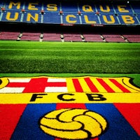 Photo taken at Camp Nou by Flaco on 7/19/2013