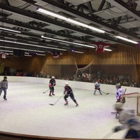 Photo taken at Patinoire des Eucherts by Fred M. on 3/19/2014