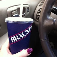 Photo taken at Braum's by Chris M. on 4/16/2013