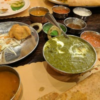 Photo taken at Aahar Indian Cuisine by Bruce K. on 2/4/2017