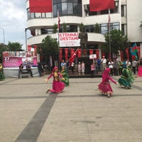 Photo taken at 23. Uluslararası Akçaabat  Müzik Ve Halk Oyunları Festivali by Orhan B. on 7/23/2017