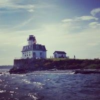 Photo taken at Rose Island by Ovi V. on 7/3/2013