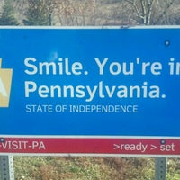 Photo taken at Pennsylvania Welcome Center by Eve P. on 11/26/2012