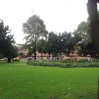 Photo taken at Parque de la 93 by Eduardo R. on 5/29/2013