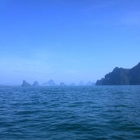 Photo taken at On The Sea : Andaman by Илья Б. on 10/24/2014