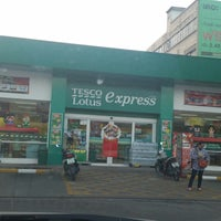 Photo taken at Tesco Lotus Express by Thana A. on 11/10/2014