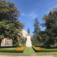 Photo taken at Puerta de Murillo de los Jardines del Buen Retiro by Jason S. on 5/4/2018