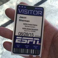 Photo taken at ESPN by Jason S. on 8/28/2015