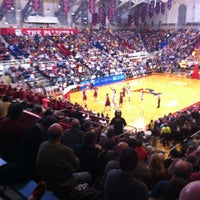 Photo taken at The Palestra by Ryan F. on 2/16/2013