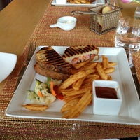 Photo taken at Cut Steakhouse & Urban Grill by Rawan F. on 3/8/2013